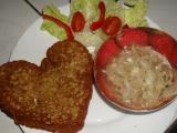 Valentýnské bramboráčky recept