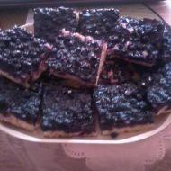 Babičky borůvkový koláč recept