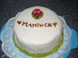 Potahovaný dort pro maminku recept