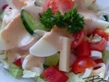 Salát se švýcarským dresinkem recept