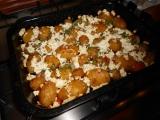Zapečené nové brambory s tvarohem recept