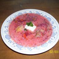 Ruský boršč recept