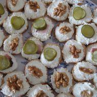 Česneková pomazánka na jednohubky recept