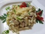 Kureci mini makarony s porkovo-smetanovou omackou recept ...