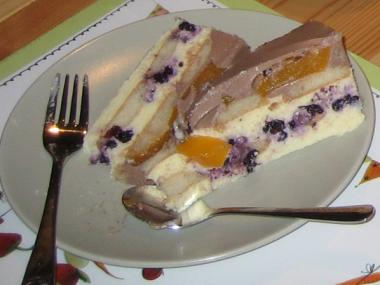 Osvědčený tvarohový dort