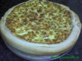 Pórkovo-cibulový koláč recept