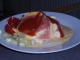 Salámovo-sýrová hnízda recept