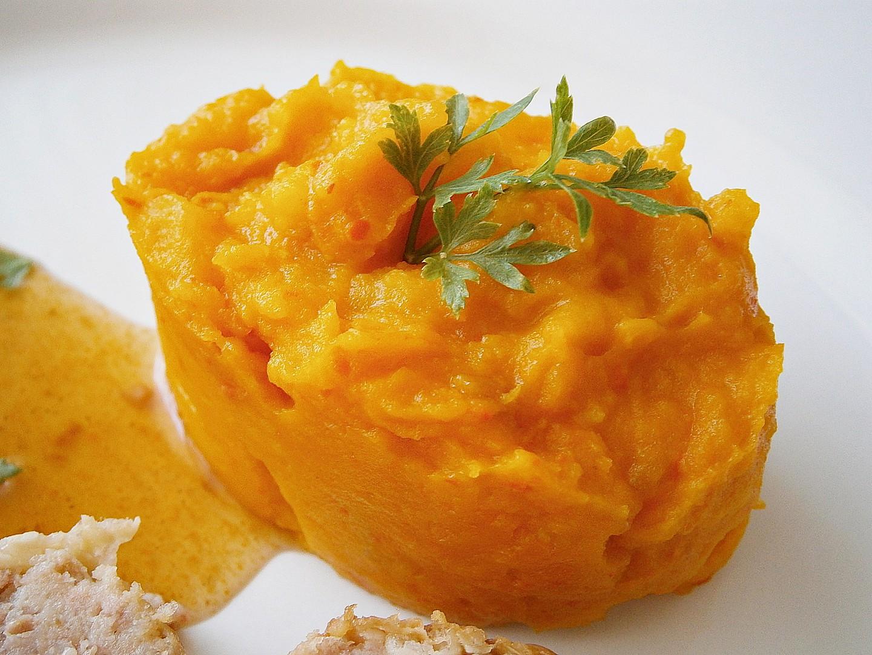Dýňovo-celerová kaše recept
