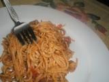 Špagety se špekem a česnekem recept