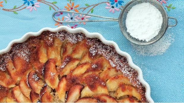 Jablečný koláč s vanilkou a citronem