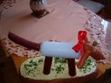 Jedlý dárek pro radost  pejsek :-) recept