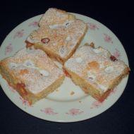 Lžícový koláč s třešněmi recept