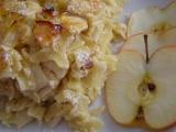 Flíčky s tvarohem a jablky recept
