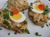 Matjesovo vajíčková pomazánka recept