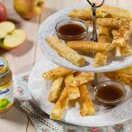 Jablíčkové hranolky s karamelovým dipem recept