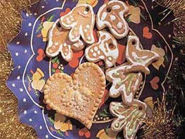 Švédské vánoční perníčky