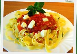 Kotlety s rajčaty, čerstvou bazalkou a mozzarellou recept ...