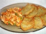 Bramborové placky s kuřecím masem a zeleninou recept ...