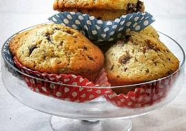 Čokoládovo-oříškové muffiny recept