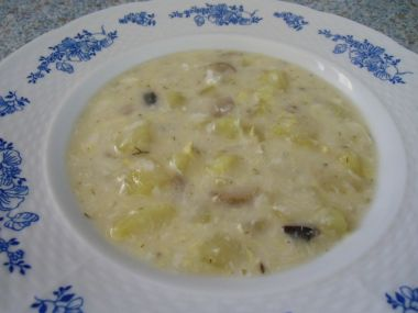 Zalitá polévka