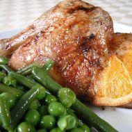 Pečené pomerančové kuře recept
