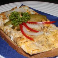 Chléb s vaječnou omeletou recept