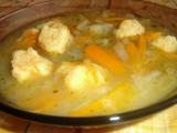 Kedlubnová polévka s mrkvovými noky recept
