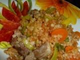 Kuře s mrkví, pórkem a s tarhoňou recept