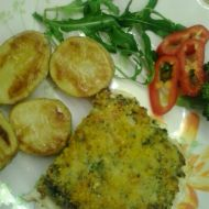 Filé se sýrovo-brokolicovou peřinkou recept