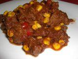 Hovězí guláš po mexicku recept