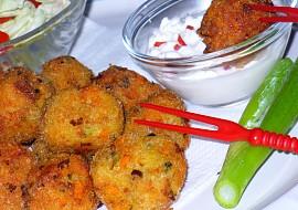 Sýrovo  zeleninové kroketky recept