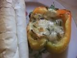 Plněné papriky sýrovou směsí recept