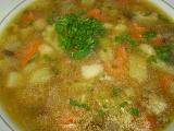 Zeleninovo-pohanková polévka s houbami recept
