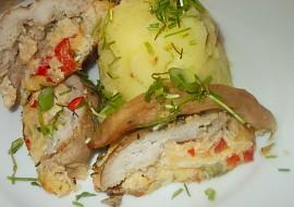 Vepřová mramorovaná pečínka z formy recept