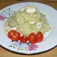 Jednoduché rizoto s kuřecím masem recept