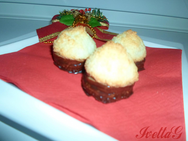 Kokosky s čokoládovým krémem recept