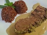 Roštěná s bylinkovopepřovou krustou recept