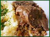 Vepřový jazyk vařený,na zelenince a pivínku pečený recept ...