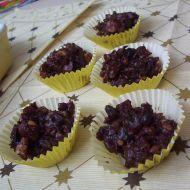 Čokoládové kopečky s ovocem recept