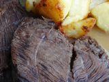 Vařená hovězí plec s Iberijským špekem recept