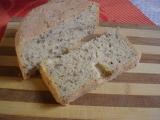 Lněný chléb se sezamem recept