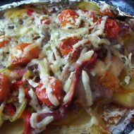 Pečené kuřecí maso s rajčátky recept