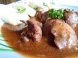 Guláš z kuřecích jater recept
