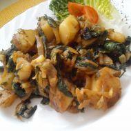 Špenátové brambory na cibuli recept