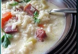 Moje bílá uzená polévka recept