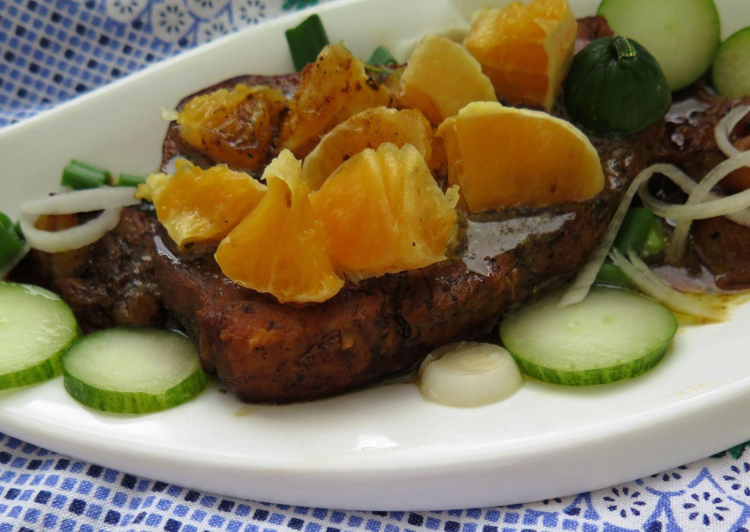Mečoun v pomerančové zálivce recept