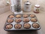 Muffins z ovesnych vlocek a ovocem recept