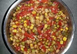 Pikantní salát ke grilovanému masu recept