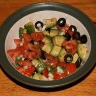 Avokádový salát recept