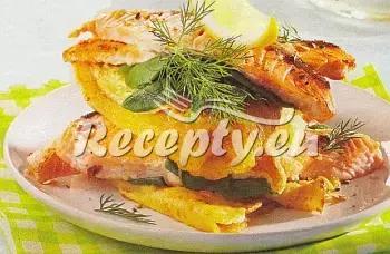 Palačinky s lososem recept  ryby